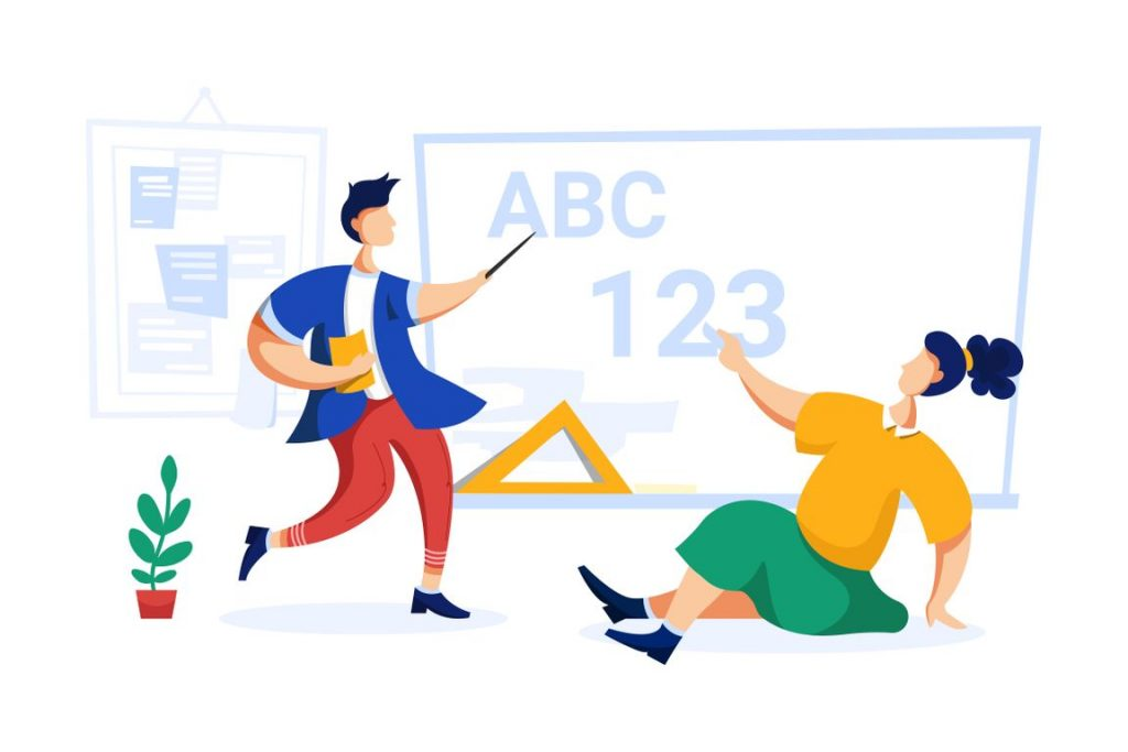 Online Education illustrations