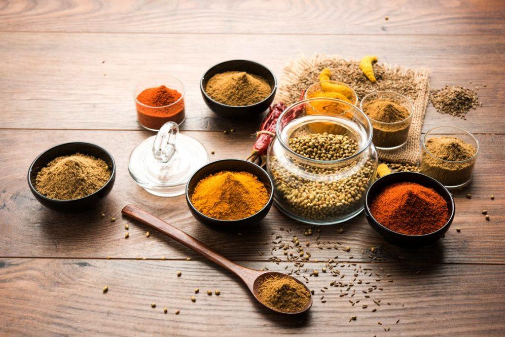 Indian spices photos
