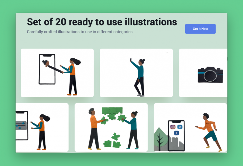 Paper Illustrations library by Iconscout