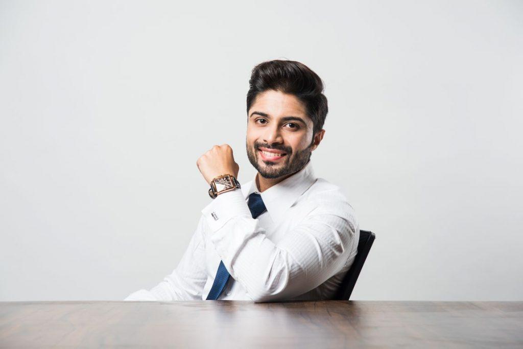 Indian businessman photo