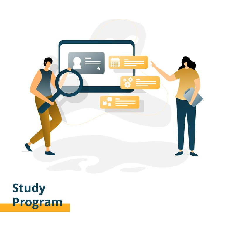 E-learning study program