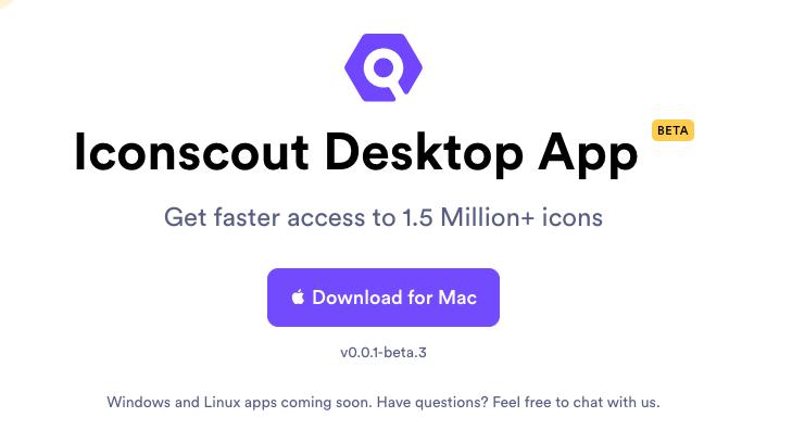 Iconscout Desktop App