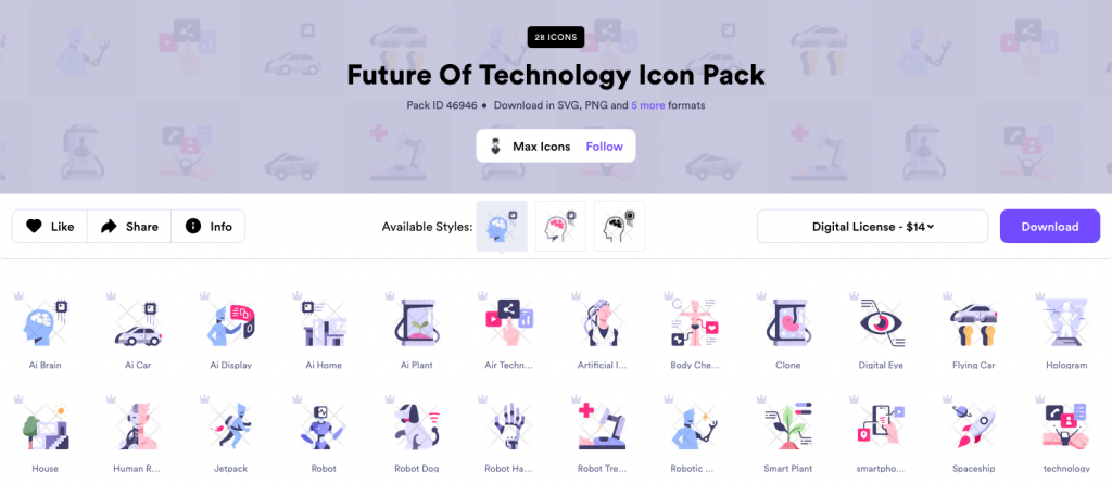Pack profile