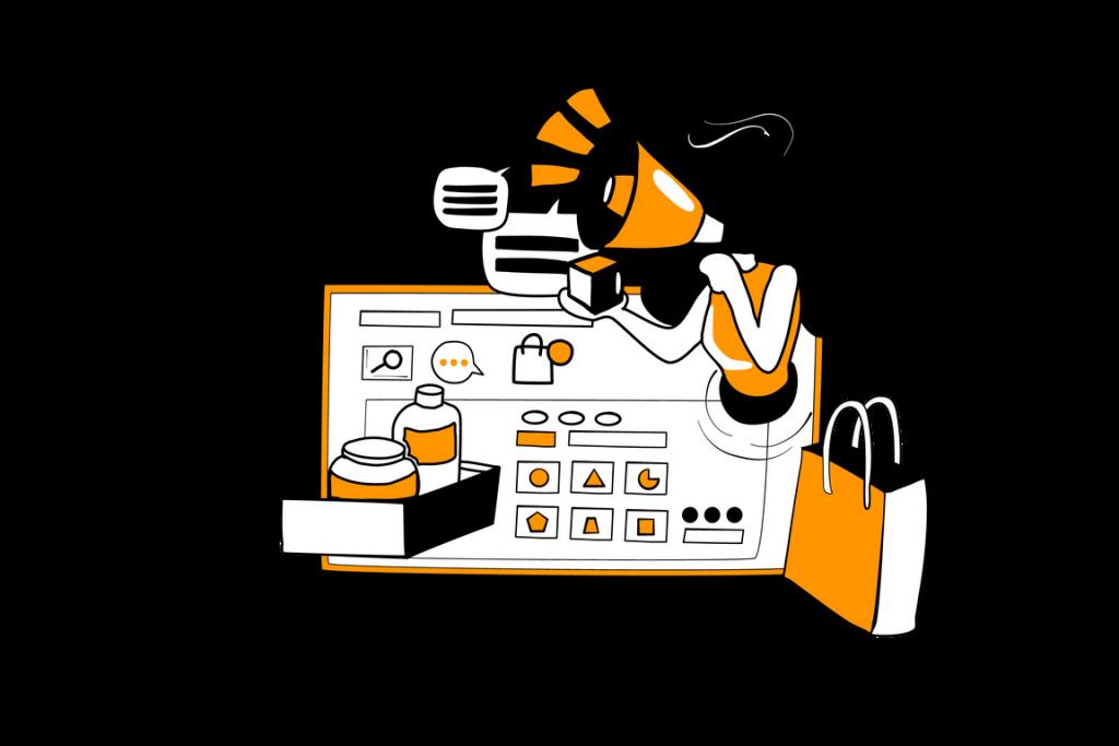 Digital Marketing illustration