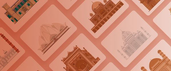 How I created Indian Monuments Illustrations