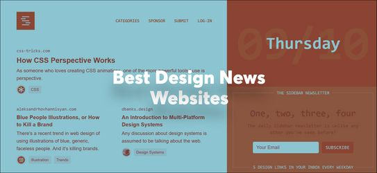 Best Graphic Design News Websites