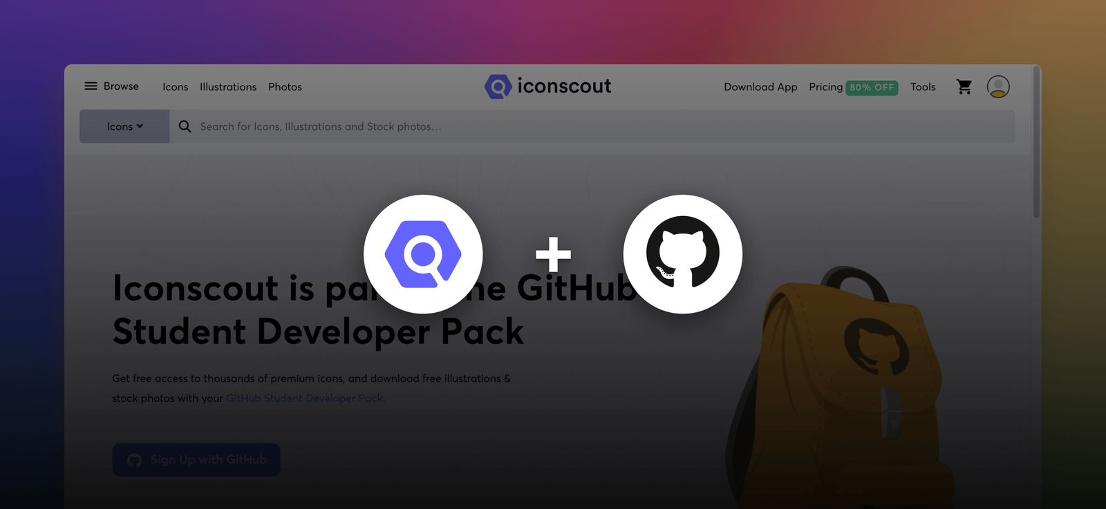 How Iconscout helped 10,000+ students with GitHub Student Pack