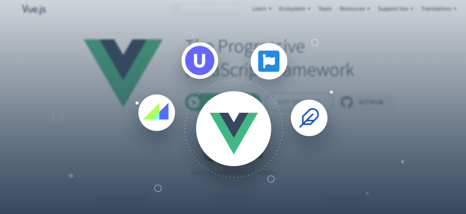 Popular Icon Sets for VueJs Apps