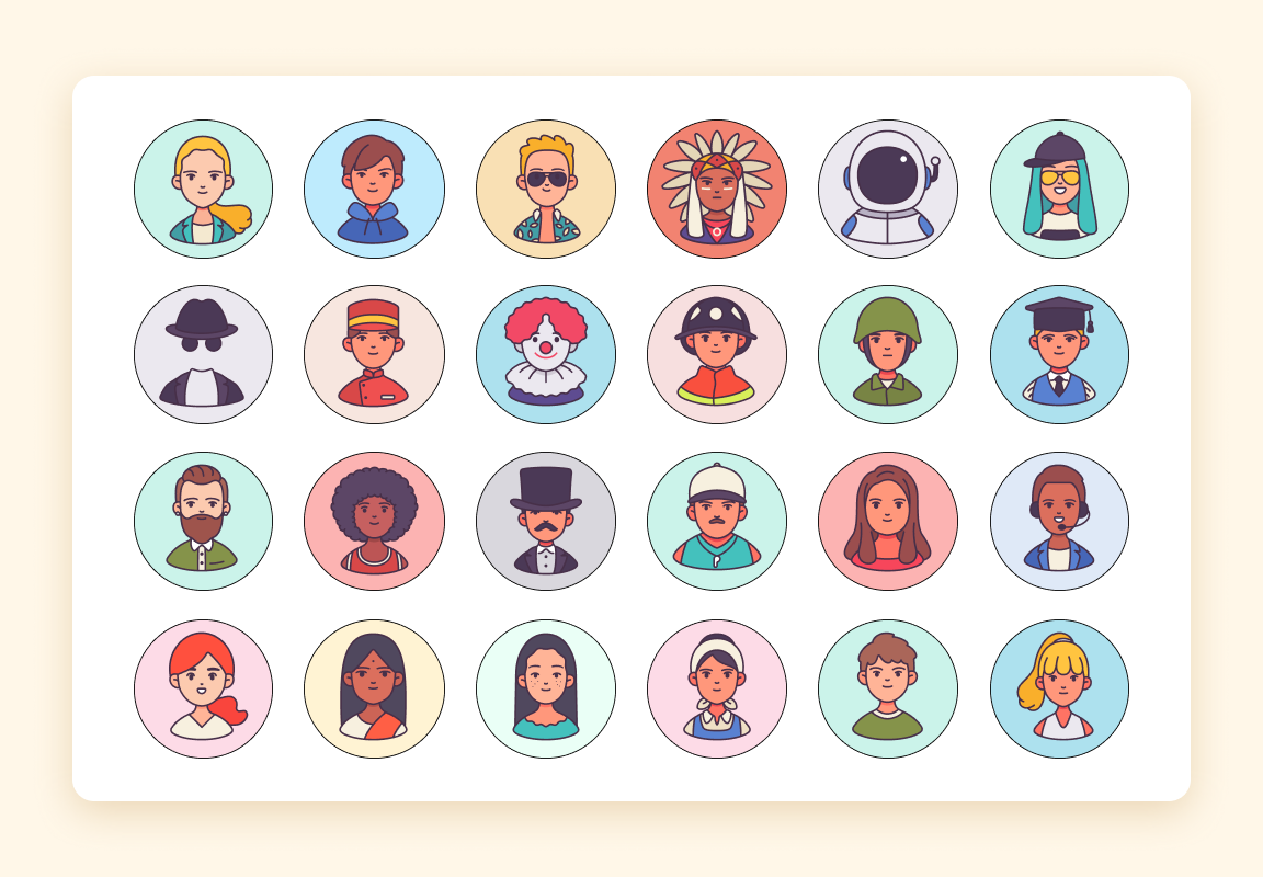 Occupations Icon pack-Iconscout