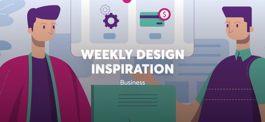 Weekly Design Inspiration - Business