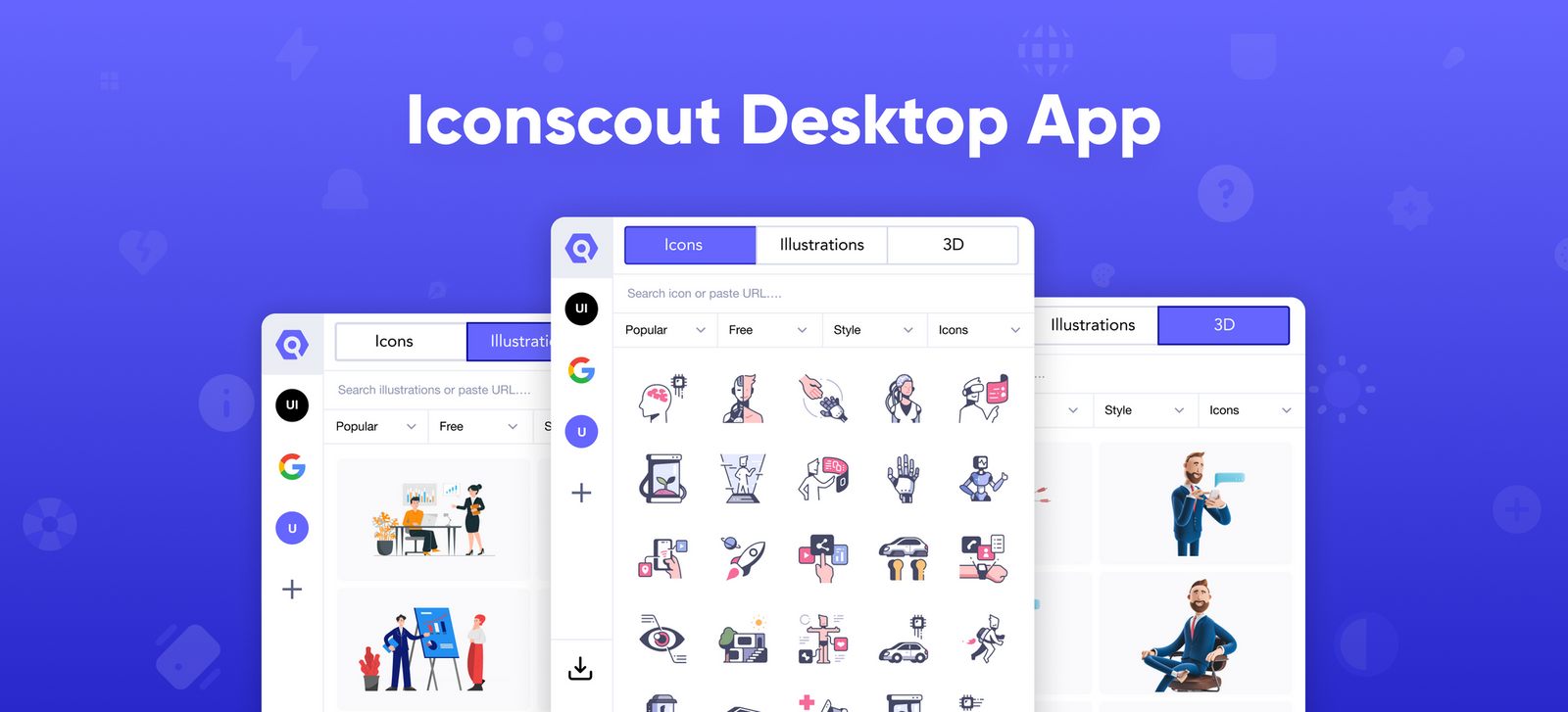 Introducing Iconscout Desktop Application for Mac and Windows