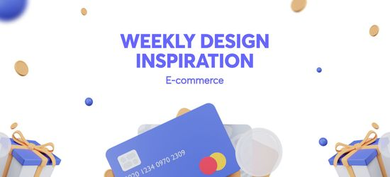 Weekly Design Inspiration - E-commerce & Shopping