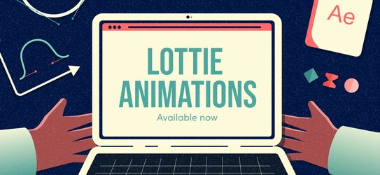 Lottie Animations are now available on Iconscout