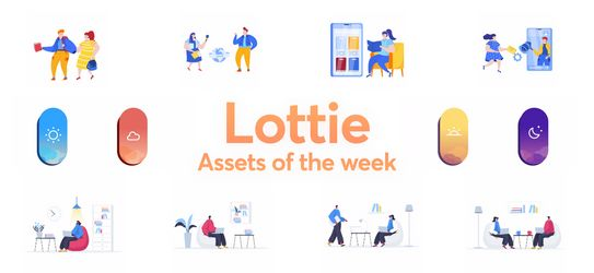 Lottie Animations Packed For You This Weekend