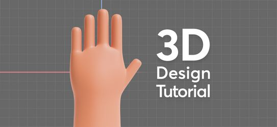 How To Model a 3D Hand In Blender
