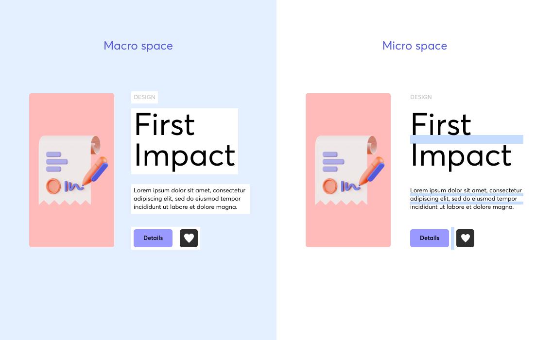 Micro Space & macro space