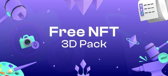Free NFT 3D Pack