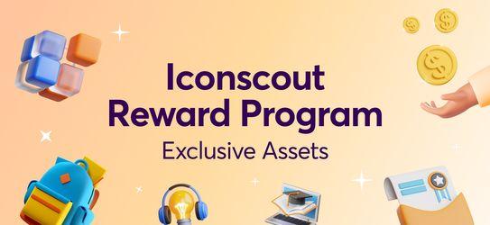 Iconscout Reward Program: Exclusive Assets