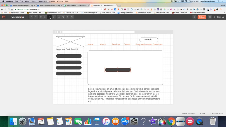 Wireframe CC - A Minimalist Wireframe Tool