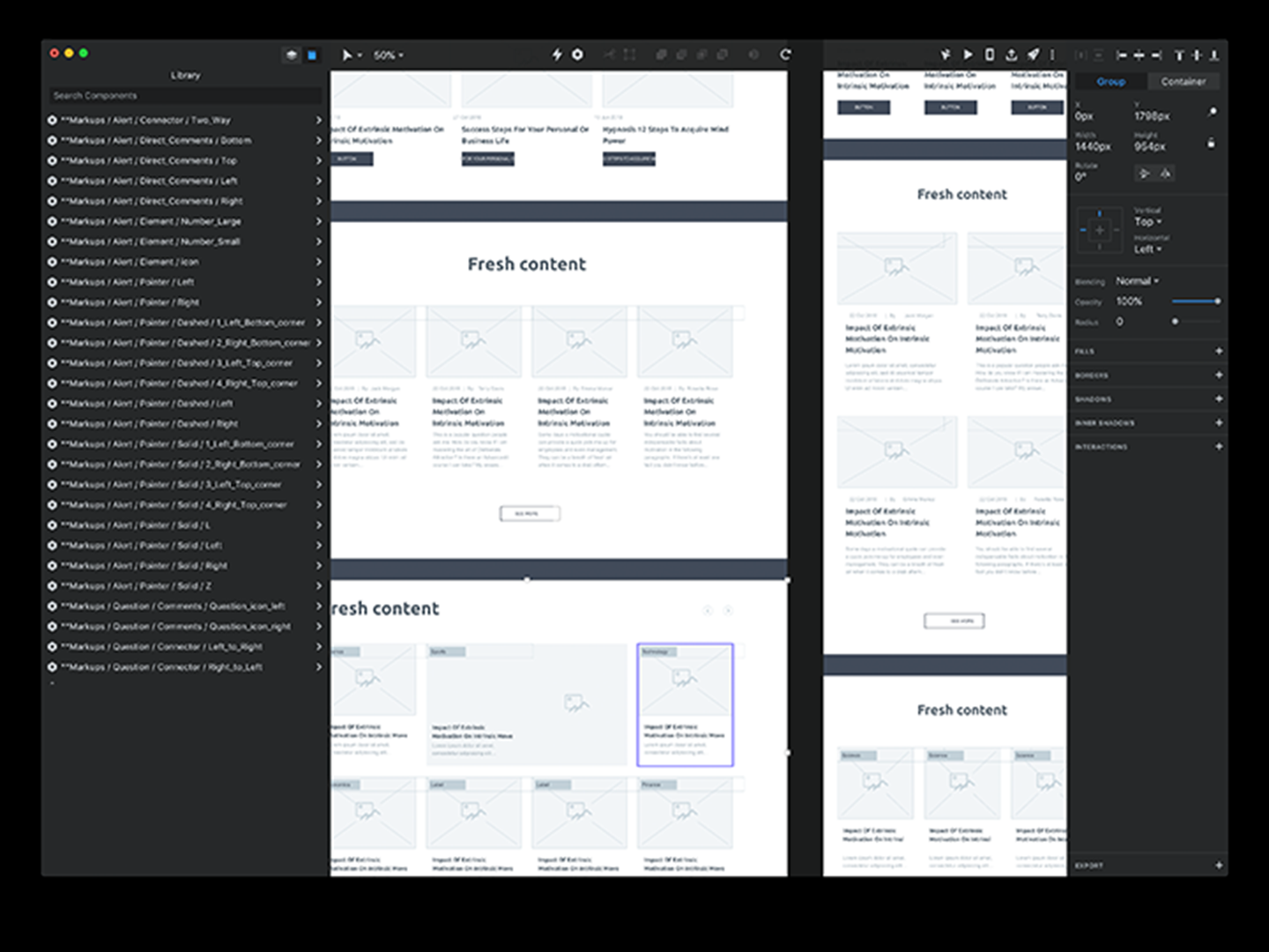 InVision- wireframe tool